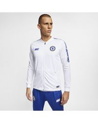 b48fa10c9 Nike Chelsea Fc Squad Pants in Blue for Men - Lyst