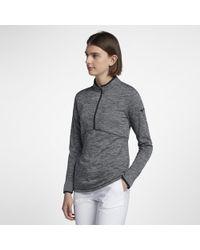 Nike - Dry Women's Half Zip Golf Top - Lyst