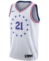 fcc4ce0b7 Nike - Joel Embiid Earned City Edition Swingman (philadelphia 76ers) Nba  Connected Jersey -