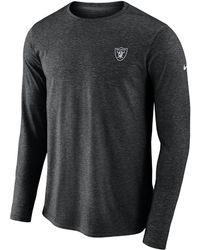 Nike - Dri-fit Coach (nfl Raiders) Men s Long Sleeve Football Top - b9cf88279