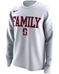 815abb07 Lyst - Nike College Dri-fit Legend Travel (stanford) Men's T-shirt ...