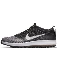 215fa74d746a4 Lyst - Nike Flyknit Racer G Men s Golf Shoe in Gray for Men