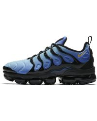 98ffc5b5f16a9 Lyst - Nike Air Vapormax Plus Men s Shoe in Blue for Men