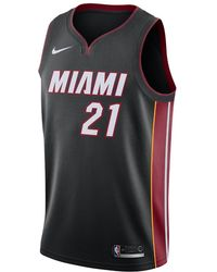 Nike - Hassan Whiteside Icon Edition Swingman (miami Heat) Nba Connected  Jersey - Lyst 628271fbd