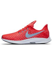 65aa5cb0b4dda Lyst - Nike Air Zoom Elite 8 Women s Running Shoe in Pink