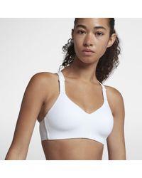 f6ad47212f Nike - Rival High Support Sports Bra - Lyst