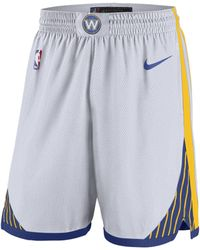 Nike - Golden State Warriors Association Edition Swingman NBA-Shorts für Herren - Lyst