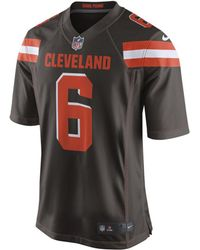 533a44ce619 Nike - Nfl Cleveland Browns (baker Mayfield) Game Football Jersey - Lyst
