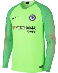 7f7de0acbb2 Nike - 2018/19 Chelsea Fc Stadium Goalkeeper Long-sleeve Football Shirt -  Lyst