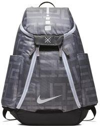 68e3f23f67cc Nike - Hoops Elite Max Air Team 2.0 Graphic Basketball Backpack (grey) -  Lyst