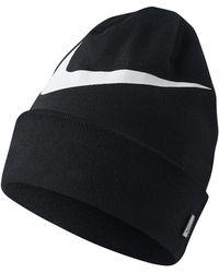 b1bbe75c1c0 Nike Beanie Cuffed Core in Black for Men - Lyst