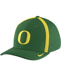 Nike - College Aerobill Swoosh Flex (oregon) Fitted Hat - Lyst