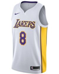e531939e0dca Nike - Kobe Bryant Association Edition Swingman (los Angeles Lakers) Nba  Connected Jersey -