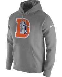 Men s Performance Circuit Logo Essential Hoodie.  75. Macy s · Nike - Club  (nfl Broncos) Men s Fleece Pullover Hoodie - Lyst 6159b6621