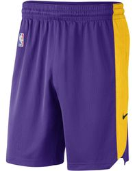 Nike - Los Angeles Lakers Nba Shorts - Lyst