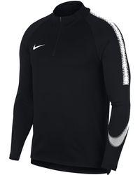 Nike - Dri-fit Squad Drill Long-sleeve Football Top - Lyst