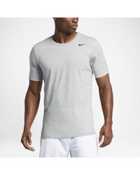 ed55eb6a7 Nike Dri-fit Contour Running T-shirt in Blue for Men - Lyst