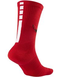 Nike - Chicago Bulls Elite Nba Crew Socks - Lyst