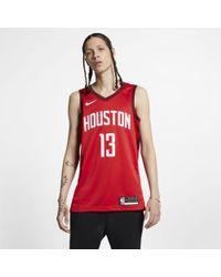 60ae7ce5d Nike James Harden Houston Rockets All-star Swingman Jersey in White for Men  - Lyst