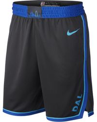 Nike - Shorts Dallas Mavericks City Edition Swingman NBA - Lyst