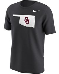 Nike | College Alternate Logo (oklahoma) Men's T-shirt | Lyst