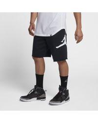 Nike - Short en tissu Fleece Jordan Jumpman Logo pour Homme - Lyst