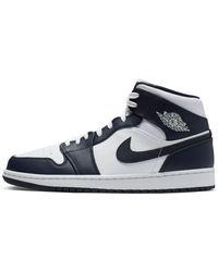 Nike Air Jordan 1 Mid Schuh - Weiß