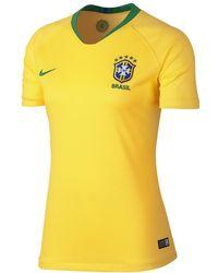 Lyst - Nike 2018 Fff Stadium Away Women s Soccer Jersey in White b17ba6419