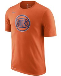 Lyst - Nike New York Knicks City Edition Dry Men s Nba T-shirt in ... d82b938af