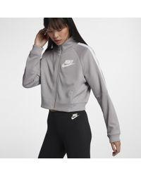 b223bd9daffc Lyst - Nike Sportswear Women s Jacket in Blue