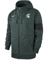 Nike - College Therma (michigan State) Full-zip Hoodie - Lyst