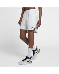502b8d77089d Lyst - Nike Elite Women s Knit Basketball Shorts in Red