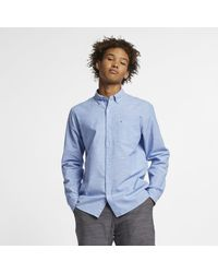 Nike Chemiseà manches longues Hurley One And Only pour - Bleu