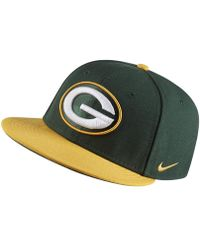 Lyst - Nike New Day True (nfl Packers) Adjustable Hat (black) in ... 8584d2fe7