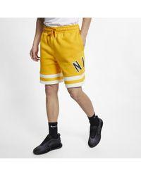 24989b661c3c9c Nike Jumpman Air Mesh Shorts in Red for Men - Lyst