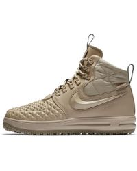 e85d32a662ae Lyst - Nike Lunar Force 1 Duckboot in Green for Men