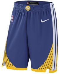 Nike - Golden State Warriors Icon Edition Authentic Men's Nba Shorts - Lyst