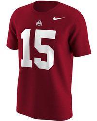 Nike - College Name And Number (ohio State / Ezekiel Elliott) Men's T-shirt - Lyst