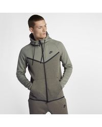 Lyst - Nike Sportswear Tech Fleece Windrunner Men s Hoodie in Black ... 99c793daf698