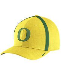 debc4dd8 Nike - College Aerobill Sideline Coaches (oregon) Adjustable Hat (yellow) -  Lyst