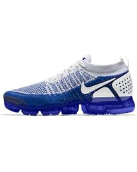Lyst - Nike Air Vapormax Flyknit Id Men s Running Shoe in Blue for Men c3bfd41b5