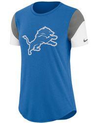 Lyst - Nike Dry Legend Sts Raglan (nfl Lions) Women s 3 4 Sleeve T-shirt 04a14be49