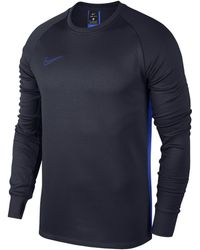 Nike - Therma Academy Long-sleeve Football Top - Lyst