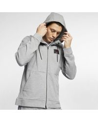 3526cd54a53e0b Lyst - Nike Jordan Legend Flight Lite Hoodie in Gray for Men