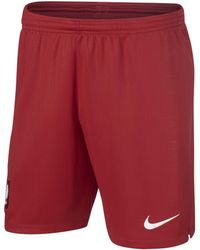 4f6b3da06 Nike 2018-2019 Poland Away Shorts - Kids Men s Shorts In Red in Red ...
