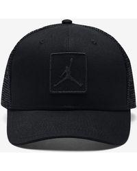 f45c113b3f6f Lyst - Nike Jumpman Snapback Adjustable Hat in Black for Men