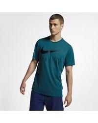 3387cfa22 Nike Dri-fit Training T-shirt in Blue for Men - Lyst