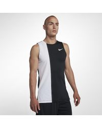 003a89068bf8d Lyst - Nike Pro Fitted Compression Tank Top for Men