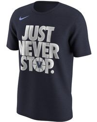"""Nike - College """"just Never Stop"""" (west Virginia) Men's T-shirt - Lyst"""