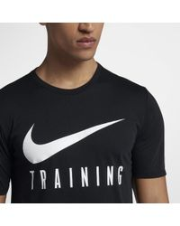 afcfb7ea0d7 Lyst - Nike Dri-fit (new York) Men s Training T-shirt in Black for Men